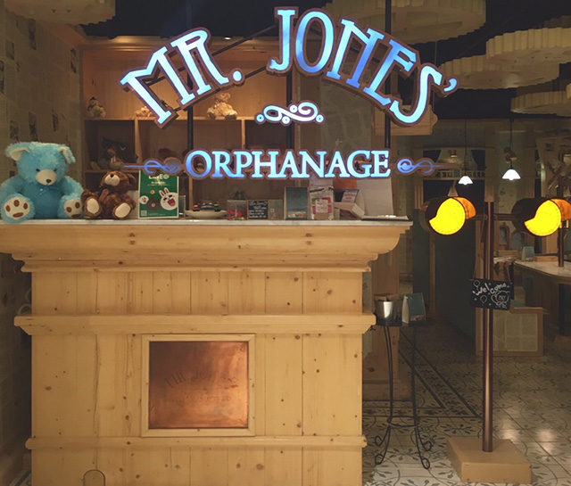 """MR.JONES' ORPHANAGE"